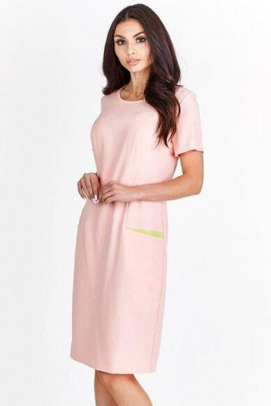 Lininė suknelė FSU777 5