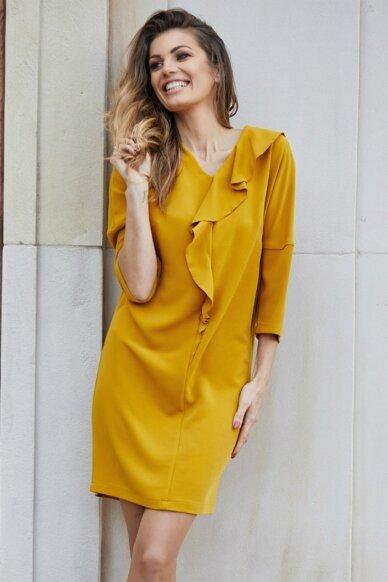 Lininė suknelė FSU777 3